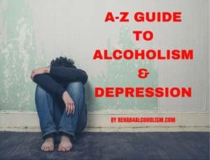 A-Z Guide to alcoholism & depression