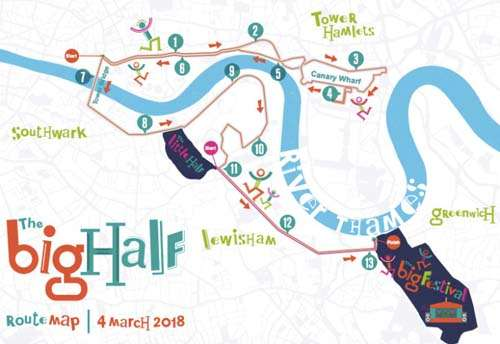 Join Sporting Recovery Team Big Half 2018
