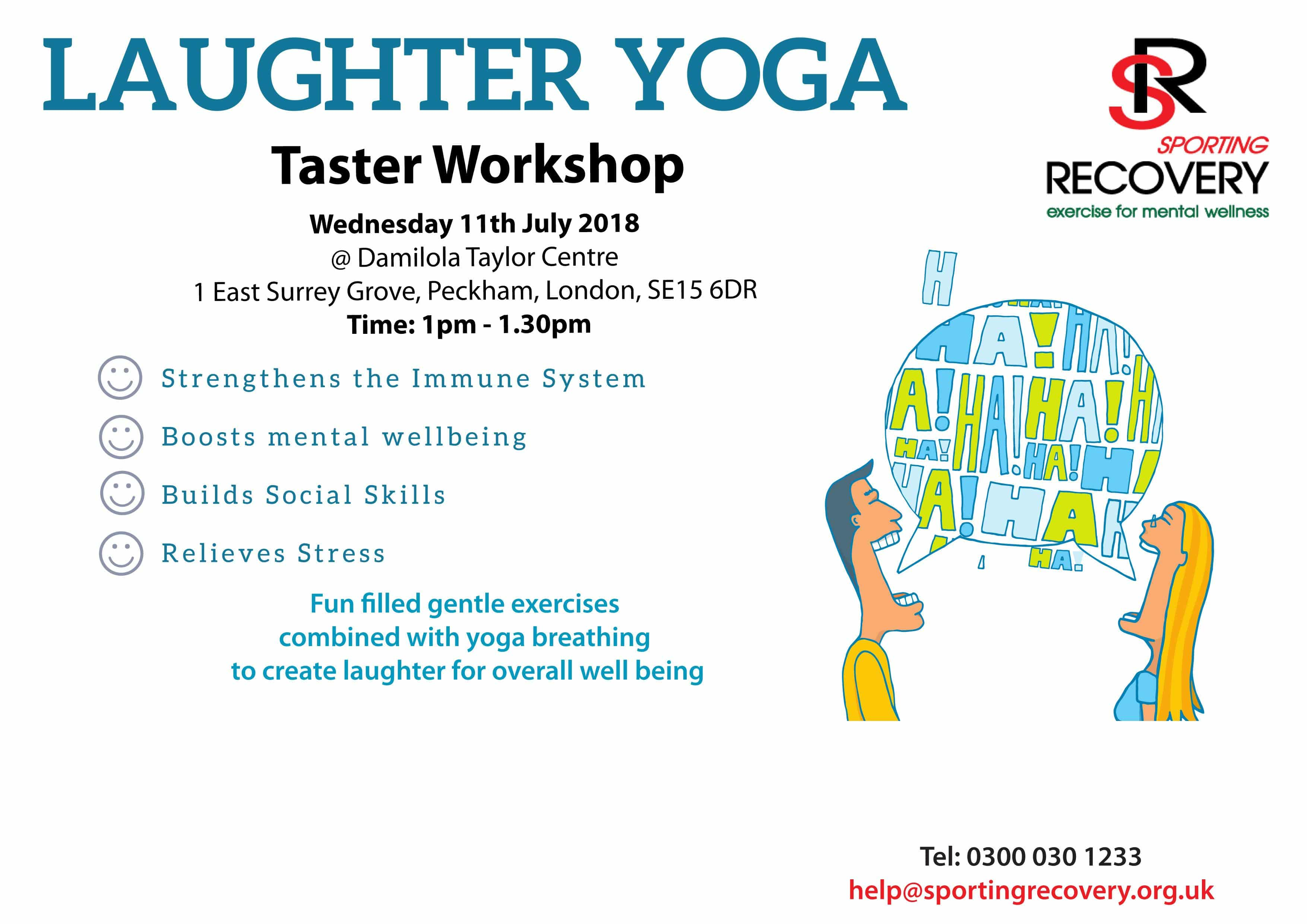 Laughter Yoga Taster
